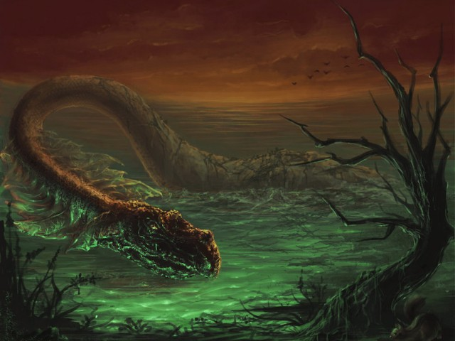 Loch Ness Monster Wallpaper