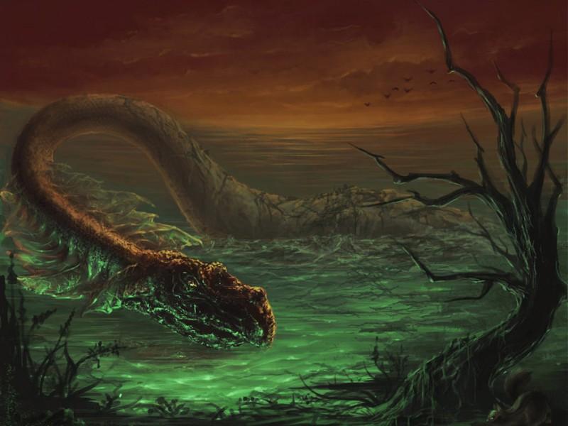 Loch Ness Monster Wallpaper