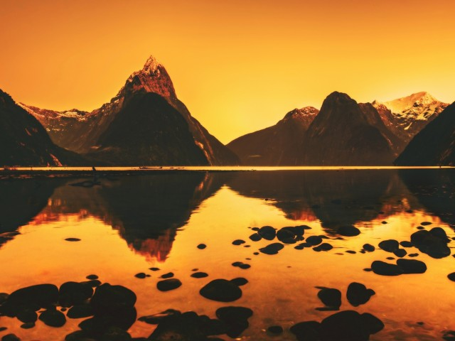 Landscape Reflection Wallpaper