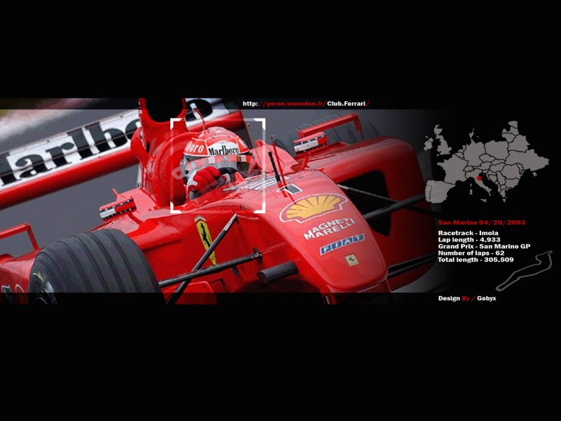 Scudera Ferrari F1 Wallpaper