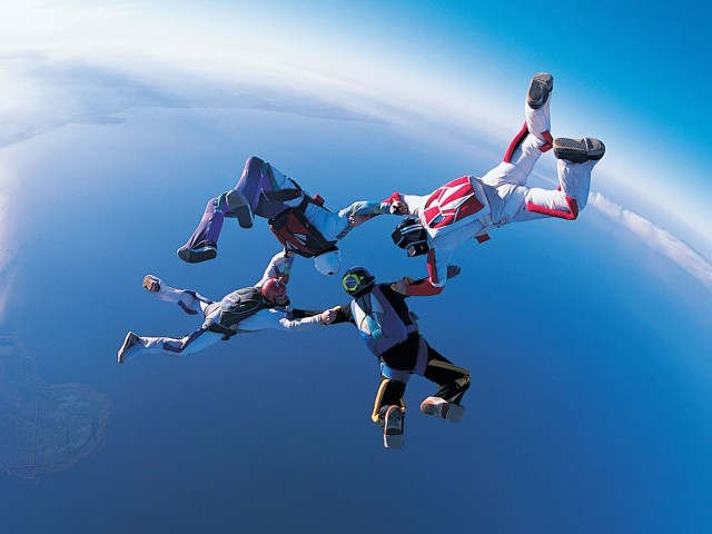 Skydive Wallpaper