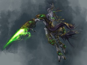 Starcraft II Protoss Wallpaper