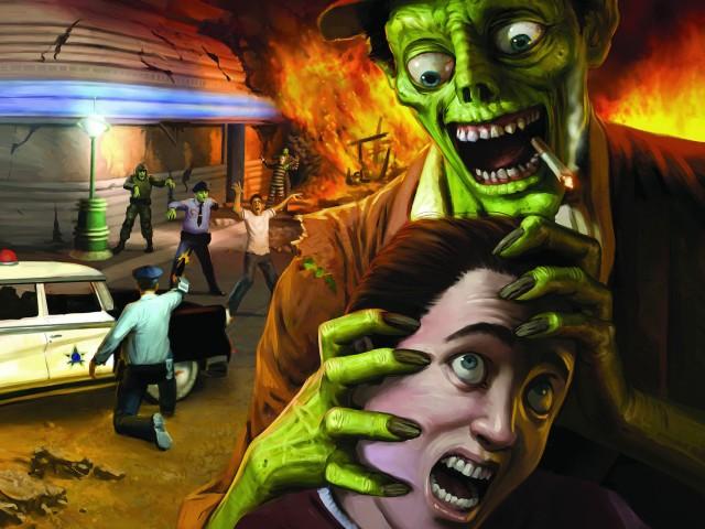 Stubbs The Zombie Wallpaper