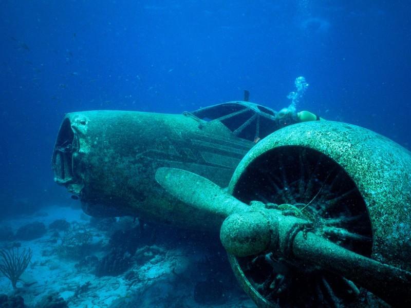 Sunken Plane, Aruba