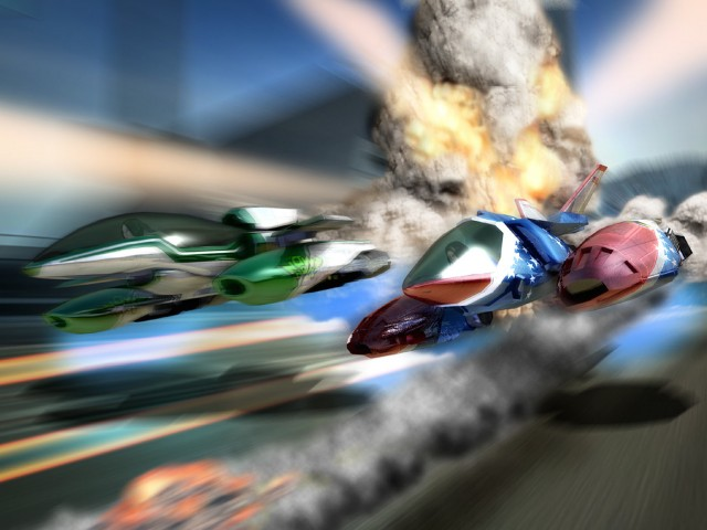 Xbox Quantum Redshift Wallpaper