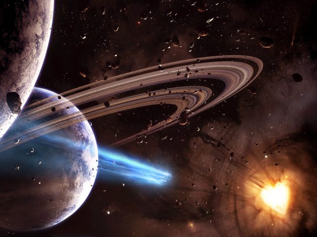 Fantasy Outer Space HD Wallpaper