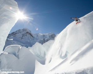 Mountain Snowboarding Wallpaper