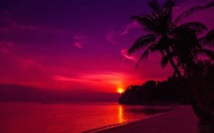 Thailand Beach Sunset Wallpaper