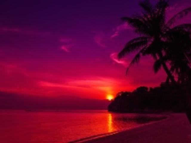 Thailand Beach Sunset Wallpaper