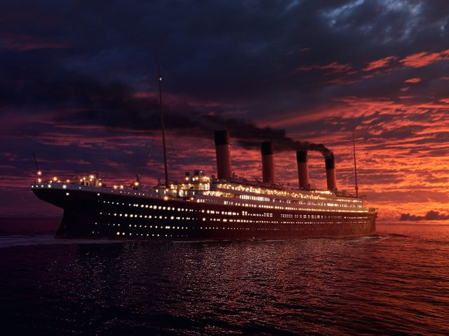Titanic Ship Wallpaper
