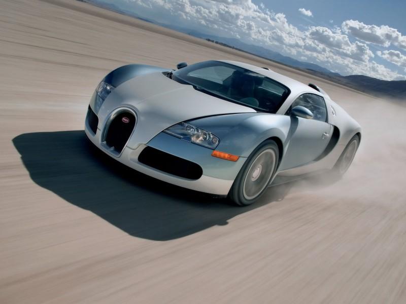 Bugatti Veyron In Bei Gerlach In Nevada Usa Wallpapergeeks Com