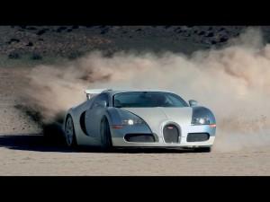 Bugatti Veyron In Gerlach Nevada