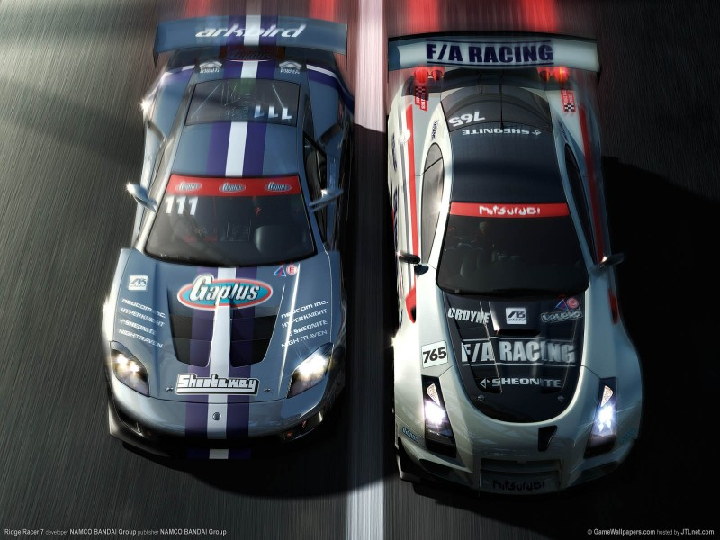 Wallpaper Ridge Racer 7 04 1600