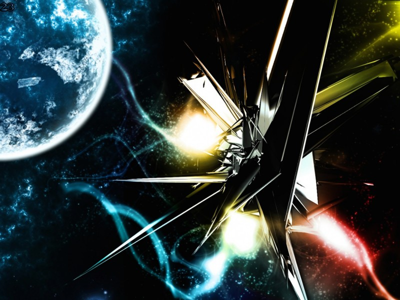 3d Space Wallpaper Free High Res Wallpapers