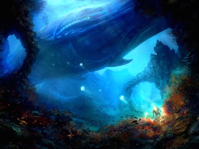 Ocean Fantasy Wallpaper