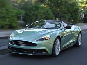 Aston Martin Vanquish Volante Wallpaper