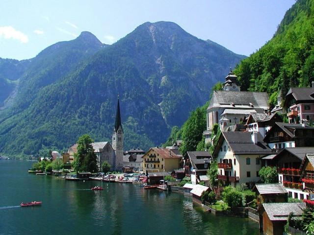 Austria Landscape Wallpaper