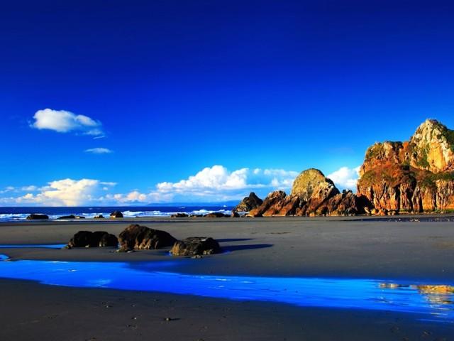 HD Ocean Landscape Wallpaper