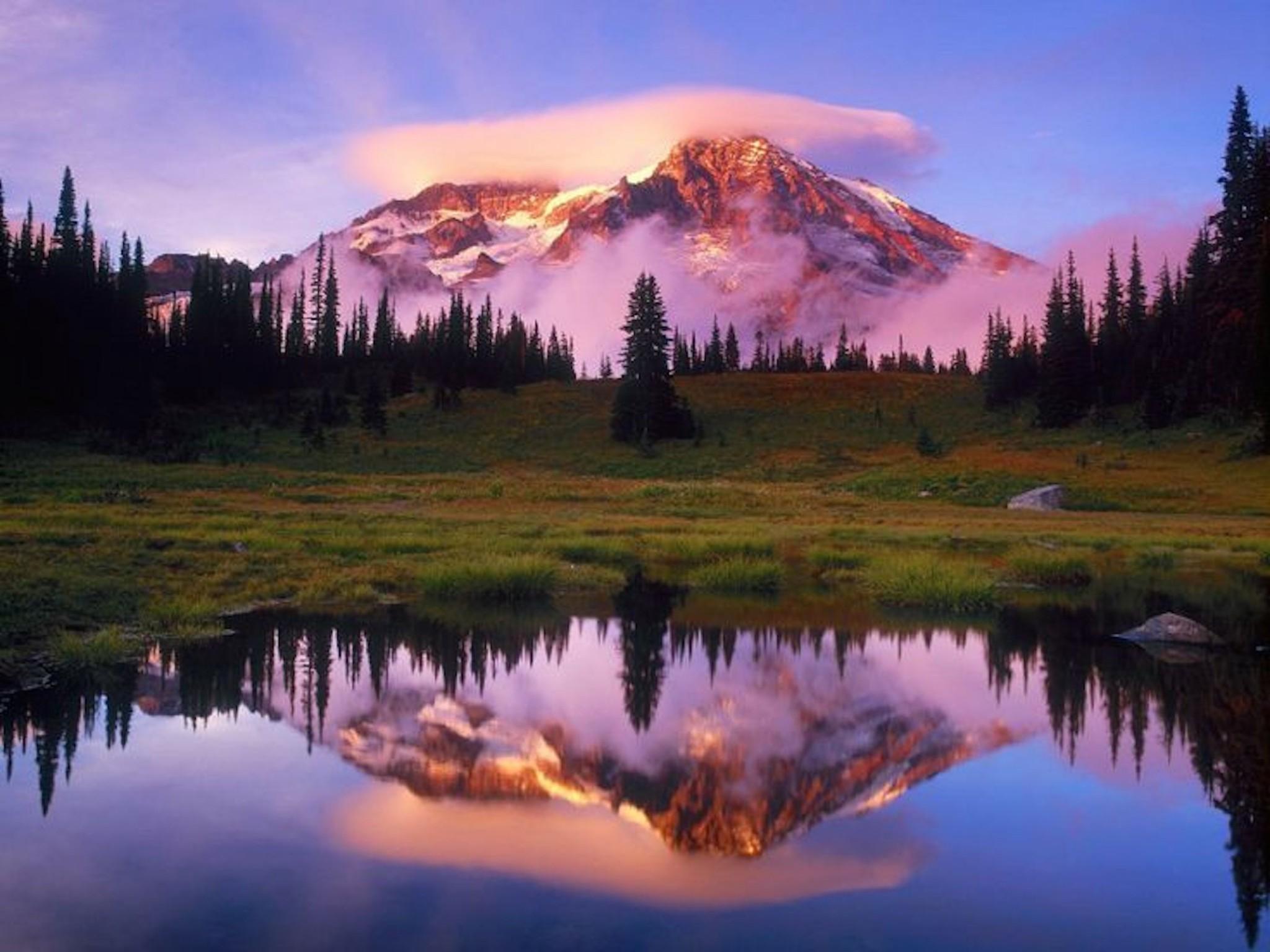 mount rainier wallpaper-free landscape downloads