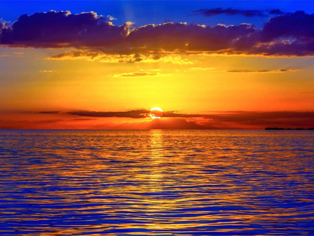 Ocean Sunset Wallpaper