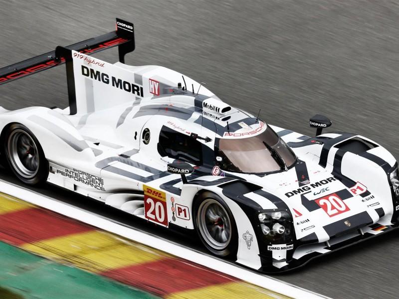 Porsche 919 Hybrid Le Mans Wallpaper
