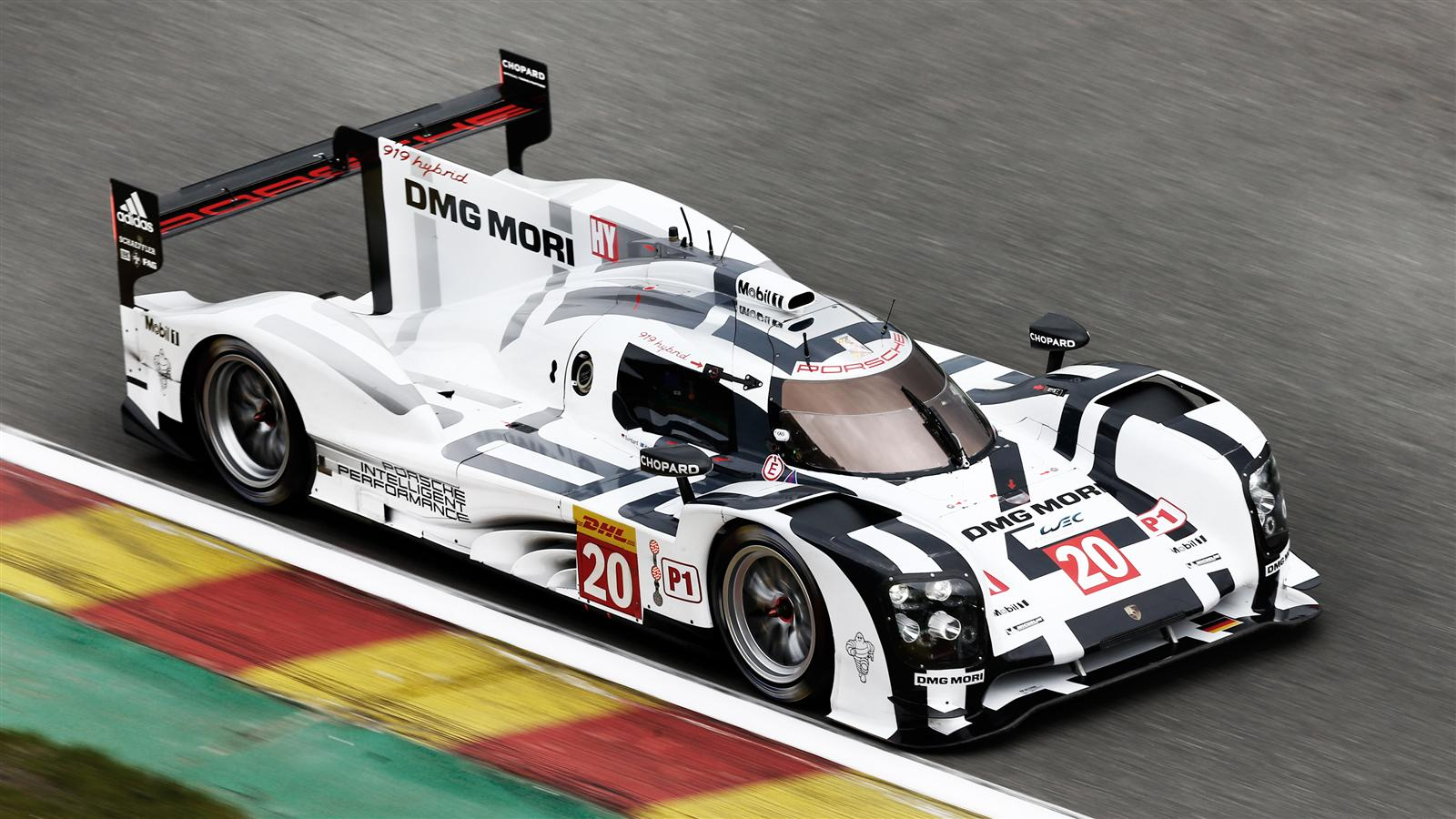 porsche 919 hybrid le mans wallpaper - free hd download