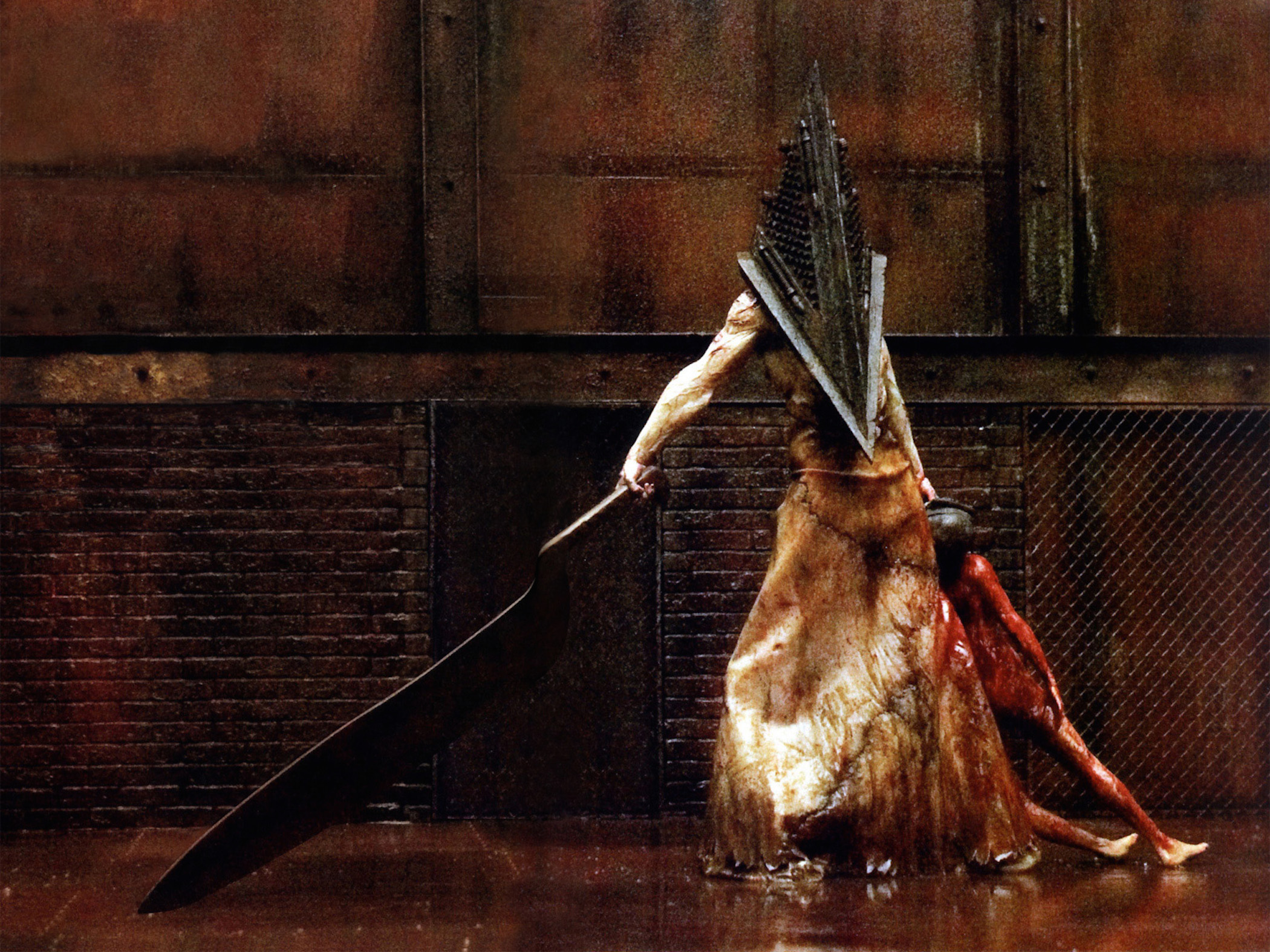 Silent Hill Pyramid Head Wallpaper Free Hd Downloads