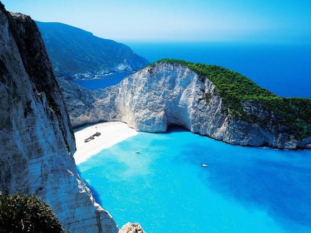 Zakynthos Zante Greek Island Yachting Wallpaper