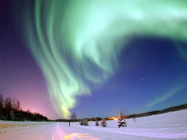 Aurora Borealis Alaska Wallpaper
