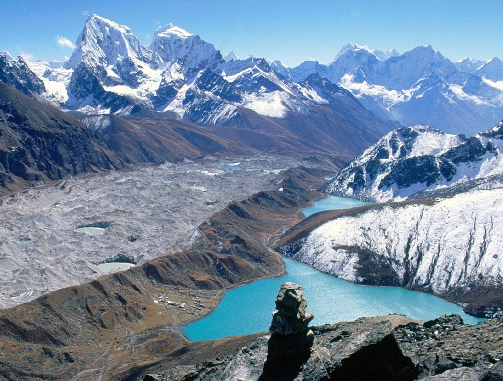 Gokyo Lakes National Park Nepal Wallpaper Free Hd