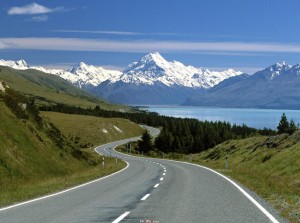 New Zealand Aoraki Mount Cook National Park Wallpaper