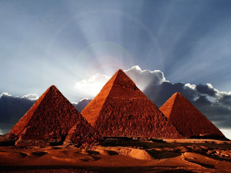 Egyptian Pyramids Wallpaper