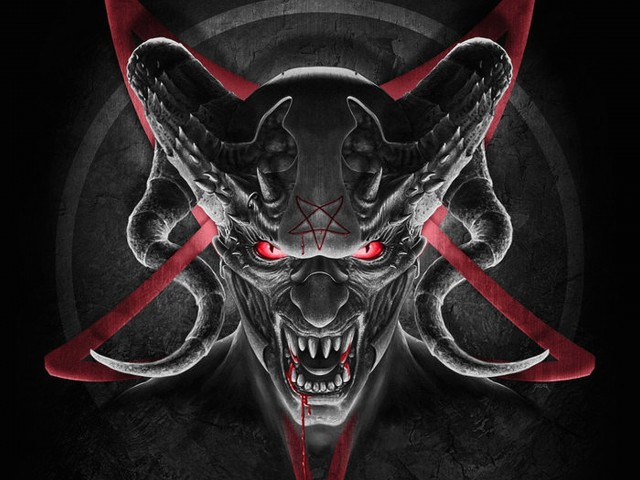 Evil Demon Wallpaper