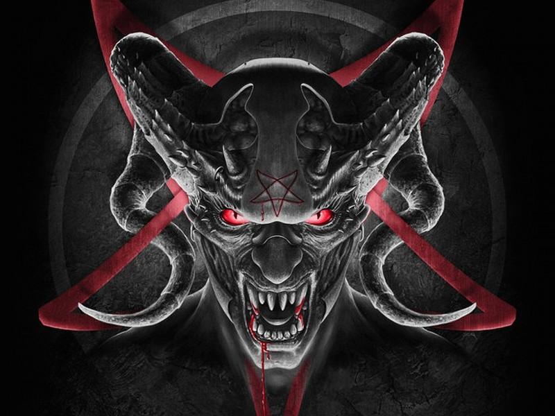 Evil Demon Wallpaper