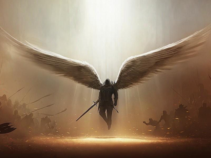 Fantasy Archangel Tyrael Wallpaper