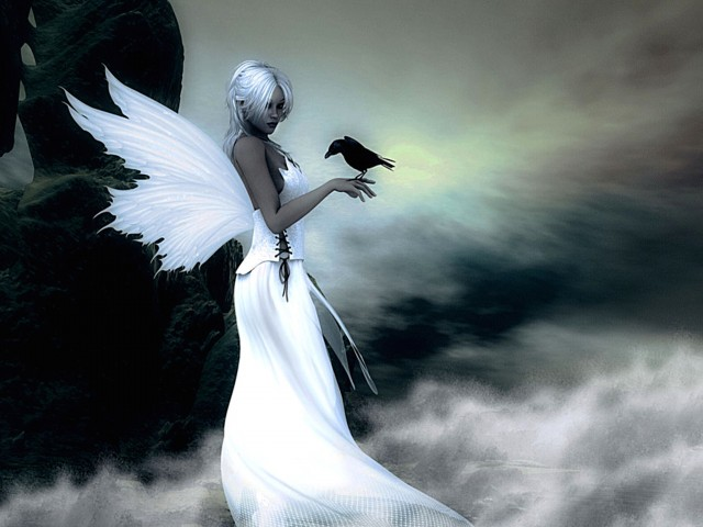 Fantasy Heavenly Angel Wallpaper