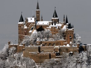 Hohenzollern Castle Winter Wallpaper