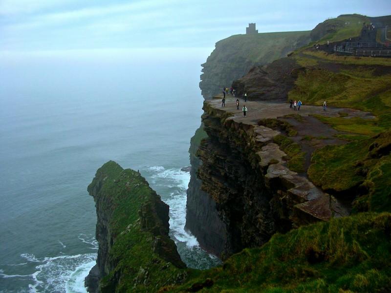 Moher Cliffs Ireland Wallpaper