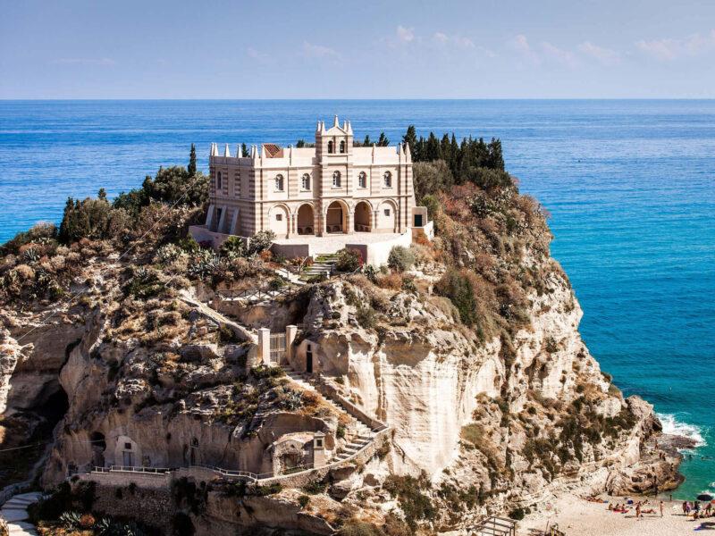 Santa Maria Monastery-Tropea Italy Wallpaper