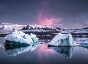 Glacier Lagoon Iceland Wallpaper