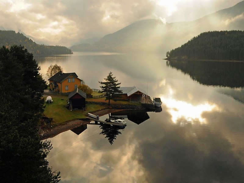 Telemark Canal-Norway Wallpaper