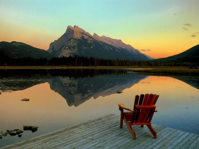 Mount Rundle-Banff National Park Wallpaper