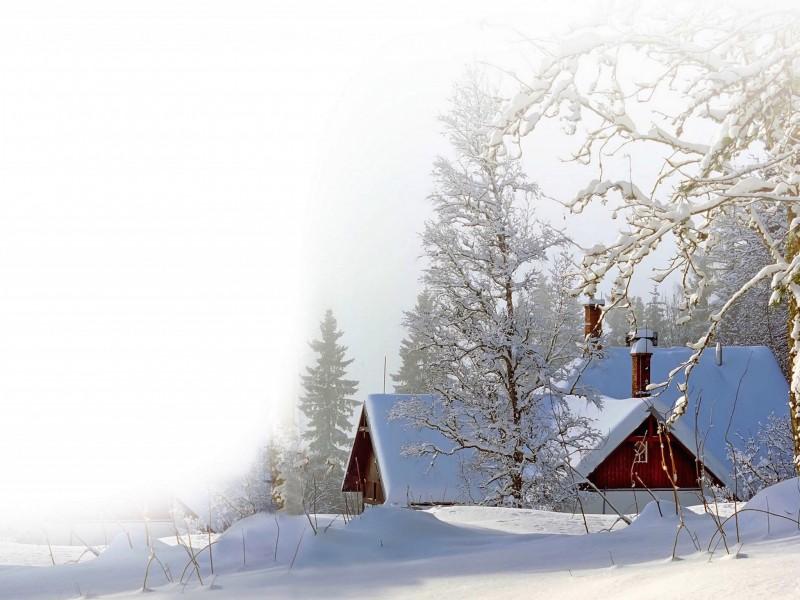 Snowfall HD Wallpaper