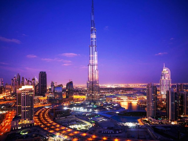 Burj Khalifa-Dubai Night Wallpaper