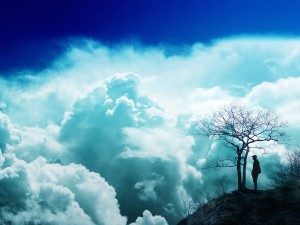 Inspiring Clouds Wallpaper