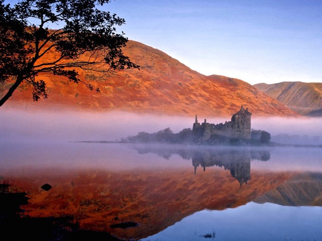 Kilchurn Castle-Scotland Wallpaper