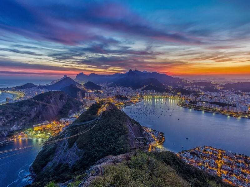 Rio de Janeiro Landscape Wallpaper