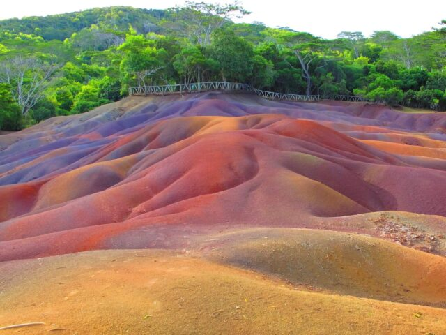 Seven Coloured Earths Wallpaper