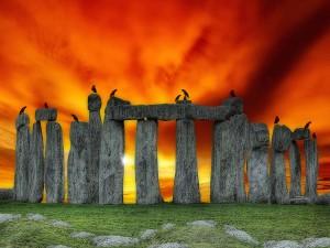 Stonehenge Prehistoric Monument Wallpaper