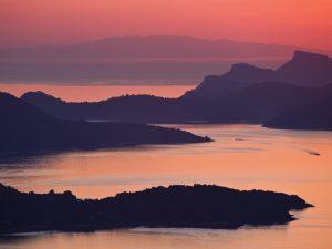Adriatic Sea-Croatia Sunset Wallpaper